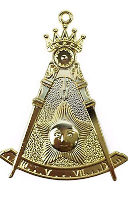 NMS 14th Degree Masonic Jewel Golden Finish