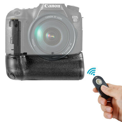 NEEWER Vertical IR Remote Battery Grip Replacement for Canon EOS 6D BG-E13 EM#01