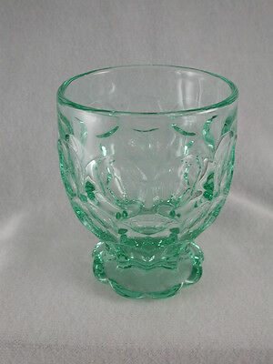 Heisey Provincial / Whirlpool ZIRCON / Limelight Footed 9 oz. TUMBLER