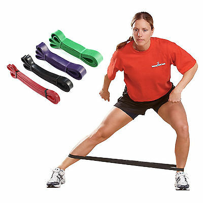 Resistance Bands Exercise Loop Crossfit Strength Workout Weight Training Fitness