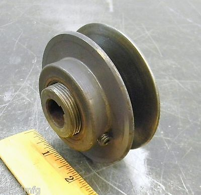 """Browning 1Vp34-5/8"""" Variable Pitch Sheave Belt Pulley Timing Pulley 3-3/16"""" Od"""