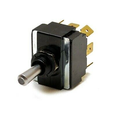 Carling Momentary On/Off/ Momentary On Illuminated Boat Toggle Switch