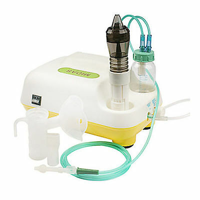 New MIDAS PLUS H-30 Nebulizer+Sinus Irrigator+Suction Rhinitis Flu (Child)