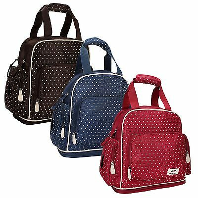 New Baby Diaper Nappy Changing Bag Backpack warmer pocket ld13