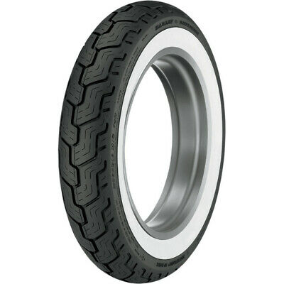 Dunlop D402 Series MT90B16 Wide White Wall Rear Motorcycle Tire