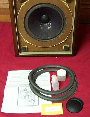 Large Advent/original Advent Woofer Surround Kit With Photo Installation Instr.