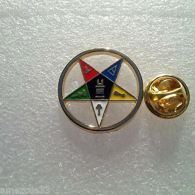 Large OES Golden Finish Pin
