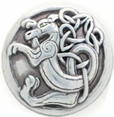 """Celtic Kell Dragon Screwback Concho 1"""" (2.5 cm) Dia. 11373-31 by Tandy Leather"""