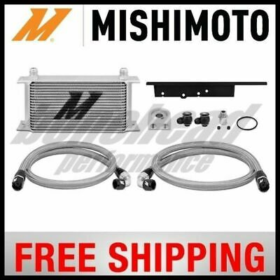Mishimoto Performance Silver Oil Cooler Kit for 03-07 Infiniti G35 Coupe VQ35DE