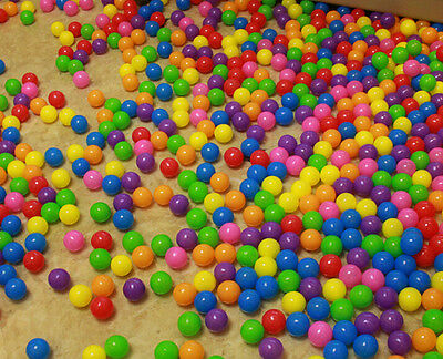 50pcs Soft Plastic Pit Ball Bright Color Toy ball pool diameter 5.5cm for Kids