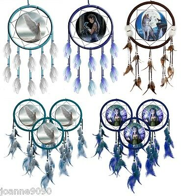 Nemesis Now Dreamcatcher Dragons Angels Fantasy Decorative Hanging Anne Stokes