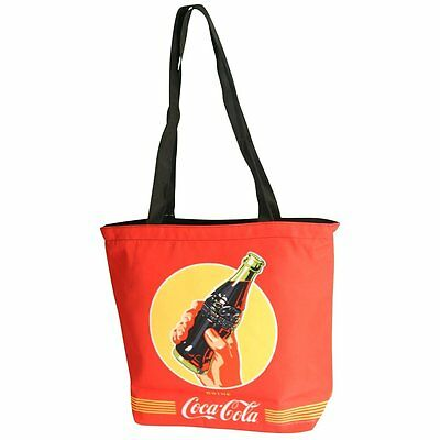 Coca-Cola Red Large Beach Shopping Tote Bag