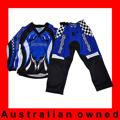 4BP MOTOCROSS MX BMX PeeWee Toddler- PeeWee Pants and PeeWee Jersey
