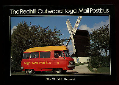 Royal Mail Postcard - The Redhill-Outwood Postbus Unused  #C11112
