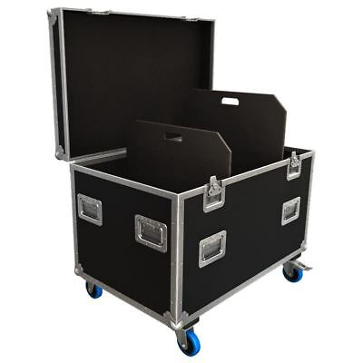 Flexi-Trunk Flight Case Road Trunk with Adjustable Partitions 950x590x580mm