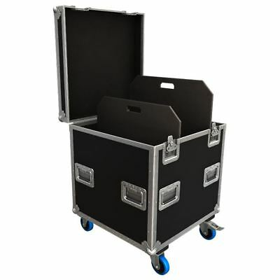Flexi-Trunk Flight Case Road Trunk with Adjustable Partitions 590x590x580mm