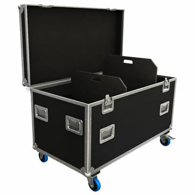 Flexi-Trunk Flight Case Road Trunk with Adjustable Partitions 1180x590x580mm
