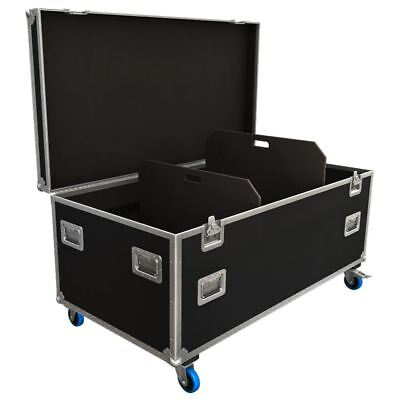 Flexi-Trunk Flight Case Road Trunk with Adjustable Partitions 1480x750x580mm
