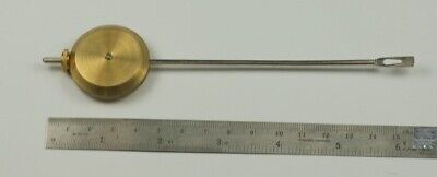 Universal brass pendulum bob adjustable fitting wall clocks mantle clock part
