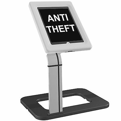 Anti-Theft iPad 2 3 4 Air, Air2, Pro 9.7, Galaxy Tablets Secure Table Desk Stand