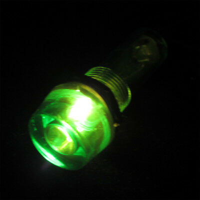 10 x AC220V Green 10mm Power Signal Indicator Light Plastic Cab Neon Lamp XD10-3