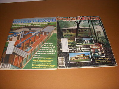 Workbench Magazine, 1978, 1979, Manufactured Homes, American Windsor Chair!