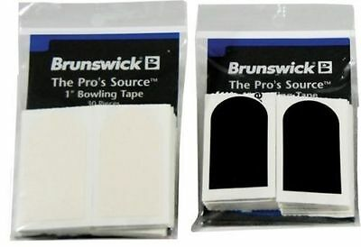 """Brunswick Textured White Bowlers Tape 1"""" New Fitting Tape For Gripping Help"""