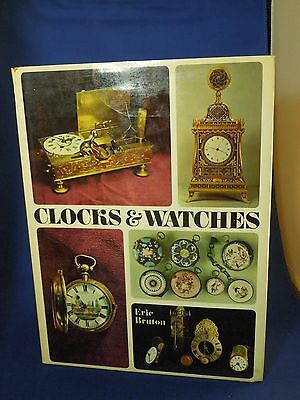 Vintage 1968 Clocks & Watches by Eric Bruton - Hardcover