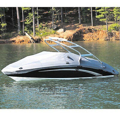 Yamaha New OEM 242 Limited S LTD w/ Tower Sport Boat Cover Gray MAR-242MC-TW-GY