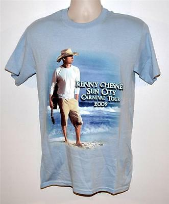 Kenny Chesney 2009 Sun City Carnival Tour T-Shirt:  Size Small