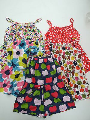 Ex-Mini Boden Cute Girls All In One Shorts  Playsuit  Age 1 -14  Bnwot