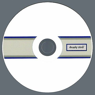 New Jersey Vital Records Collection (Genealogy) - 26 NJ Books on CD!