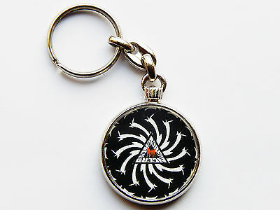 SOUND GARDEN Classic Rock Band Quality Chrome Keyring Picture on Both Sides!