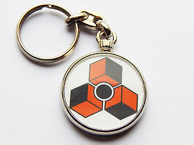PROPELLERHEAD REASON Music Maker Quality Chrome Keyring Picture on Both Sides!