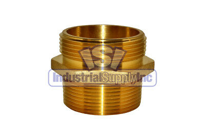 """Fire Hydrant Adapter 2-1/2"""" MPT (M) x 2-1/2"""" NST (M)"""