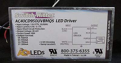 AC ELECTRONICS PROGRAMMABLE AC-40CD1.4BPMZ LED DRIVER WOND-R-WAND TYPE TL RATED
