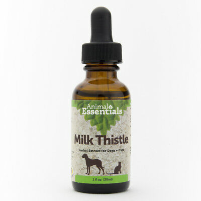 Animal Essential APAWTHECARY MILK THISTLE (Liver Health) 1 oz - For Dogs  Cats