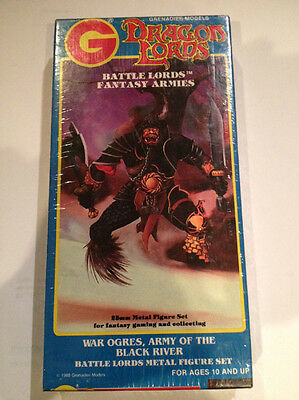 Grenadier Dragon Lords Battle War Ogres Army of the Black River 1606 Box - NEW