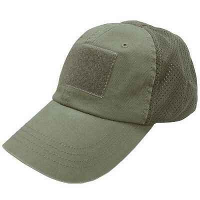 Condor Contractor Summer Mesh Tactical Ball Cap Military OD GREEN BDU Sheriff