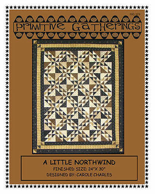 A Little Northwind Quilt Kit by Primitive Gatherings for Moda