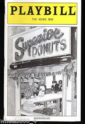 Broadway Playbill Superior Donuts  The Music Box September 2009