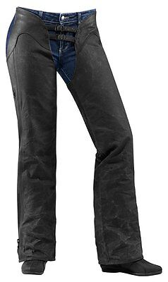 Icon Womens 1000 Collection Hella 1000 Textile Leather Chaps 2014