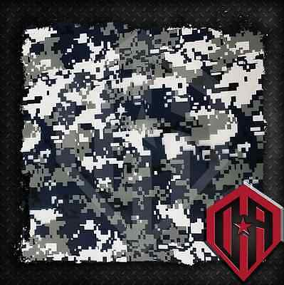 Hydrographic Water Transfer Hydrodipping Hydro Dip Blue Digi Camo Camouflage