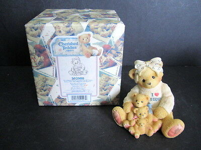 1998 Enesco Cherished Teddies-If A Mom's Love Comes In All Sizes...