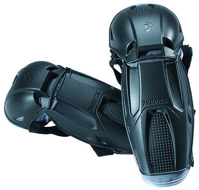 Thor Mens Quadrant Elbow Guard Protectors 2014 Pair Black