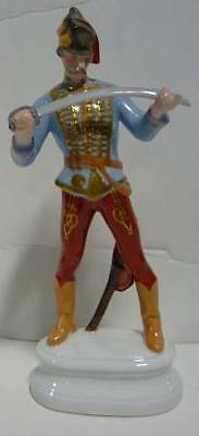 Herend HAIDIK HUSSAR NATURAL Hand painted Figurine 5526 No Box GREAT CONDITION