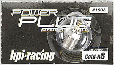 HPI 1508 R8 Turbo Glow Plug Cold For Nitro Buggy & Truck Engines
