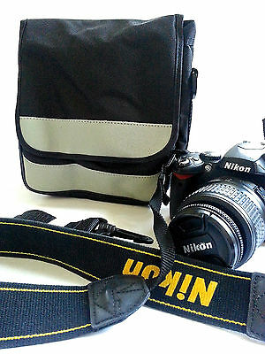 Carrying Bag Case 4 Digital DSR DSLR Camera Canon Nikon Sony Samsung Panasonic
