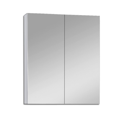 600Mm X 720Mm Bathroom Vanity Mirror Cabinet Shaving White Pencil Edge Pemc600