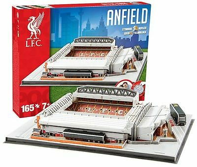 LIVERPOOL FC Anfield Stadium 3D Puzzle gift football memorabilia mens boys gifts